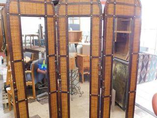 ratan mirror room divider