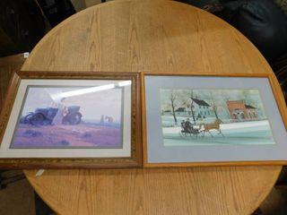 2 framed art