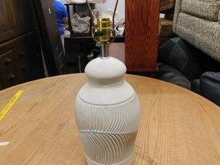 white southwestern lamp