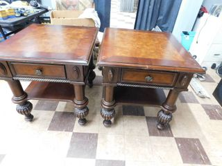 pair matching end tables