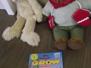 2   teddy bears   grow animal