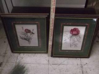 flower framed pictures