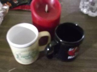 coffee mugs   electric candle