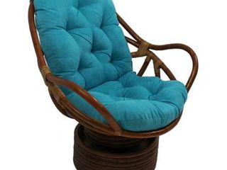 Blazing Needles Microsuede Swivel Rocker Cushion