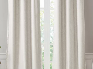 SunSmart leighton Tonal Printed Curtain Panels   Set of 2