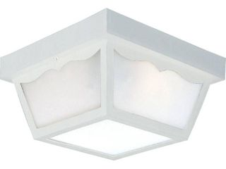 Progress lighting Non Metallic Ceiling light w  1 Piece Acrylic Diffuser