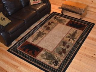American Destination Cades Cove lodge Area Rug