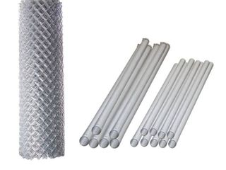 AlEKO Galvanized Steel Chain link Fence