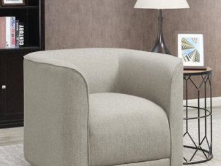 Strick   Bolton Mason Contemporary Swivel Accent Chair  Retail 383 99