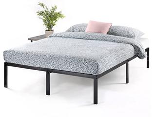Full Size Best Price Mattress 14 Inch Metal Platform Beds W heavy Duty Steel Slat Mattress