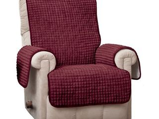 Innovative Textile Solutions Puffs Plush Recliner Furniture Protector