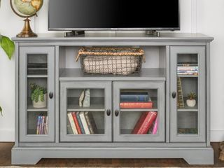 Middlebrook Designs 52 inch Highboy TV Stand Console  Retail 406 97