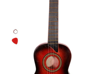 25  Acoustic Guitar Red