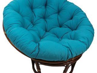 Blazing Needles 52 inch Solid Twill Papasan Cushion Retail 84 49  Cushion Only