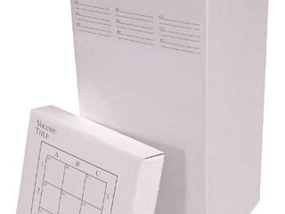 Advanced Organizing Systems 9 Slot Rolled File Filing Box