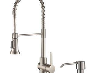Kraus KPF 1690 Britt Commercial 2 Function Pulldown Kitchen Faucet Retail 219 95
