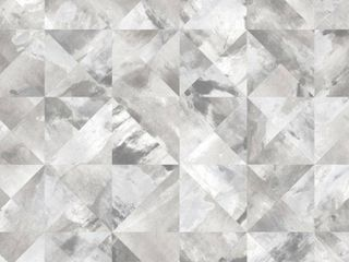 Norwall Mosaic Paper Peelable Roll  Covers 56 sq  ft  Grey