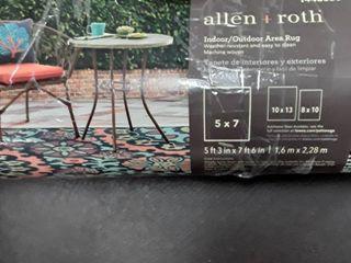 Allen   Roth Indoor Outdoor Rug
