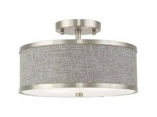 livex lighting Park Ridge Semi Flush Mount light