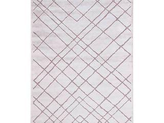 Basset Geometric Area Rug  Retail 272 99