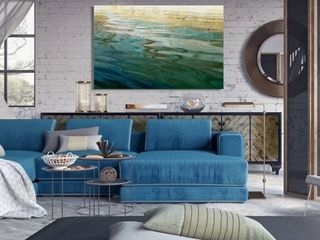 Ethereal lake  Premium Gallery Wrapped Canvas Retail 125 49