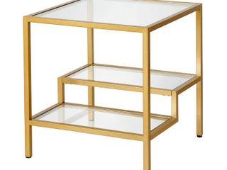 Meyer Cross lovett Side Table Brass