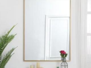 Carson Carrington Salsnas Metal Frame Rectangular Mirror  Retail 229 99