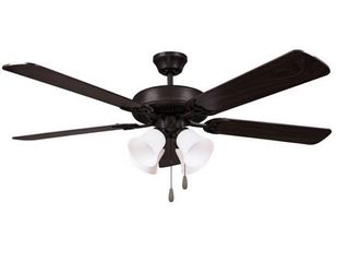 HARlI 5 Blade Ceiling Fan in Black Retail 82 99
