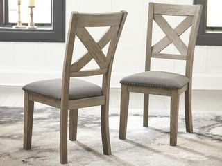 Aldwin Dining Room Chair   Set of 2   Retail 163 49