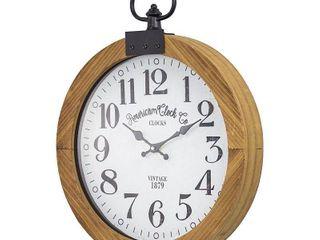 American Clock Co  Pocket Watch Wall Clock 20  Retail 83 99