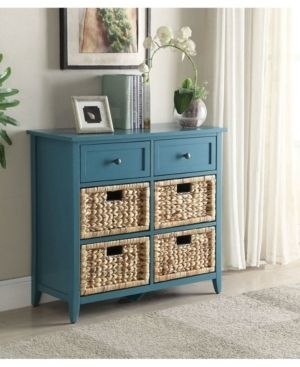 Acme Furniture Flavius 6 drawer Console Table Retail 192 18