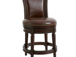 NewRidge Home Swivel Scoop Comfy Chair