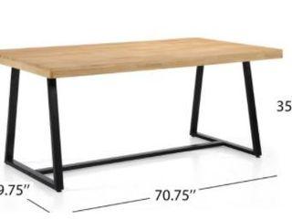 Oziel Farmhouse Cottage Dining Table by Christopher Knight Home