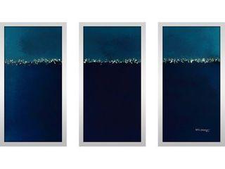 Mark lawrence  Genesis 1 2 Max  Framed Plexiglass Wall Art Set of 3 Retail 217 98