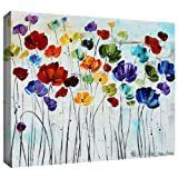 ArtWall Jolina Anthony lilies Gallery Wrapped Canvas Retail 109 99