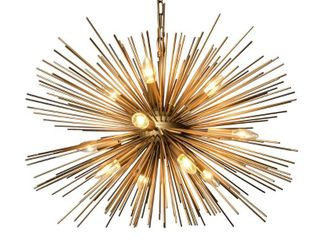 Y Decor 12 light Chandelier in Gold finish Retail 309 49