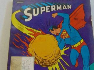Old Superman Coloring Book