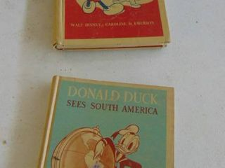 2 Disney Books  Mickey Sees the USA   Donald Sees South America