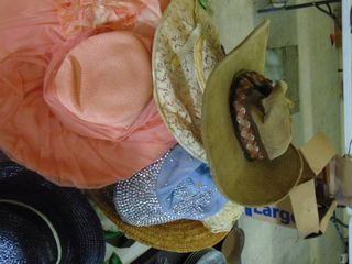 lot of Old ladies  Hats