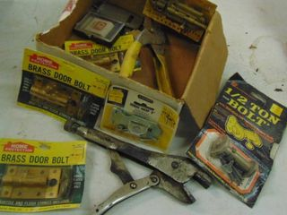 Box of Assorted Hardware