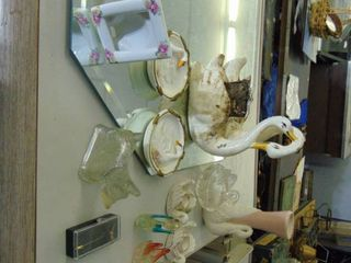 Swan figurines   Swan Porcelain Trays   Other figurines