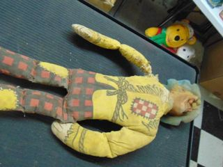 Old scarecrow toy