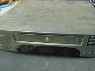 GE VHS player