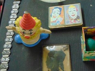 Clown Items   divided plate   and more