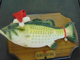 Big Mouth Billy Bass  battery powered