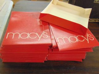 lot of Macy s Boxes