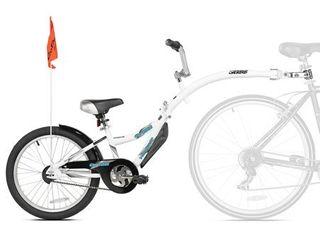 Kazam WeeRide Co Pilot Bike Trailer  White