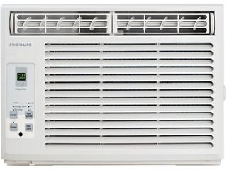 Frigidaire 5 000 BTU 115V Window Mounted Mini Compact Full Function Remote Control Air Conditioner  5000  White