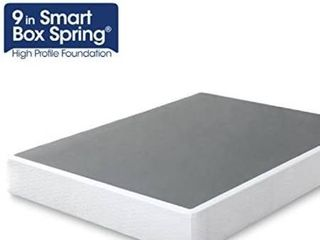 ZINUS 9 Inch Smart Metal Box Spring   Mattress Foundation   Strong Metal Frame   Easy Assembly  K