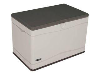 lifetime 80 Gallon Heavy Duty Deck Box  Desert Sand